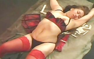 bizarre oriental playgirl dominated