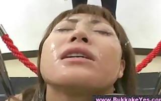 bukkake japanese goo shower
