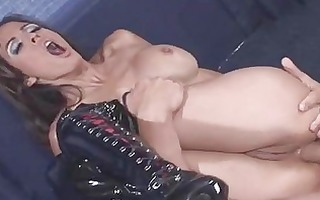 anal fuck in fetish boots