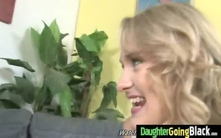youthful daughter with priceless gazoo fucked by