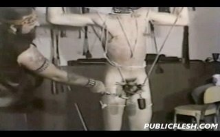 bizarre vintage homosexual domination and cbt