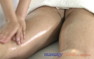 massage rooms horny juvenile masseuse copulates