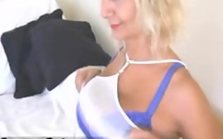 hot golden-haired mother i with large mounds