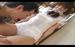 petite oriental hotty receives a sex-toy in her