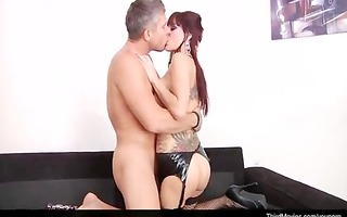 gia dimarco anal fuck and sperm creampie