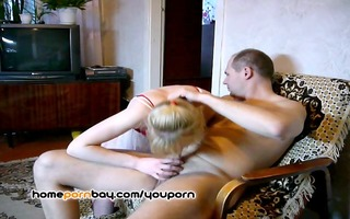 russian excited wife