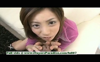 natsumi mits sinless cute chinese angel gives a