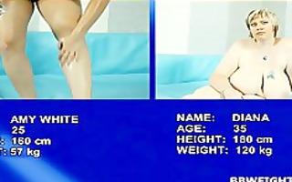 naked big beautiful woman wrestling episode