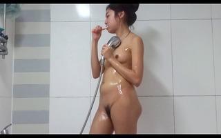 hidden webcam cought a angel in washroom