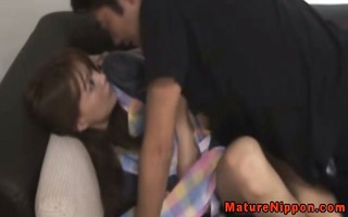 japanese older cougar acquires horny