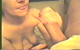 aged mom has saggy breasts