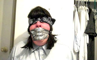 your tied and gagged sissy whore
