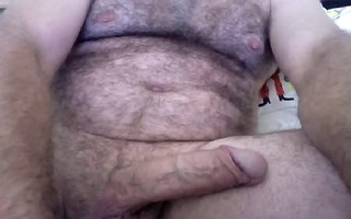 large dicked shaggy bear cums