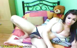 breasty large knob oriental shemale