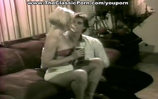 golden-haired sweetheart has sex in classic xxx