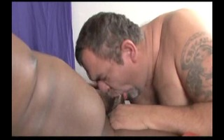sexi daddy eating penis