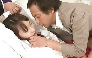 hawt oriental gang group-sex scene