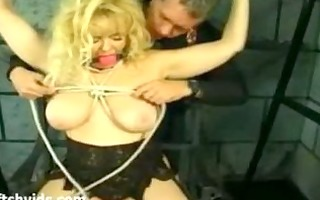 big-tit lady enjoys priceless flogging