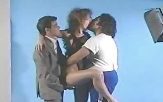 aja retro three-some photo discharge sex