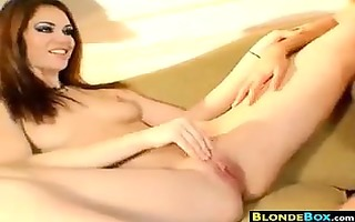 golden-haired wench having fu nwith her ally