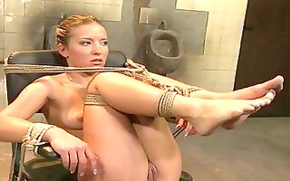 hawt blond lesbo mastix with great legs gets her