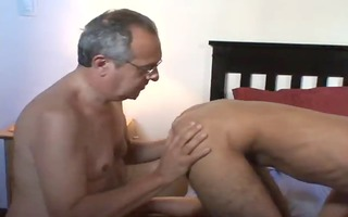 granddad fuck youthful guy