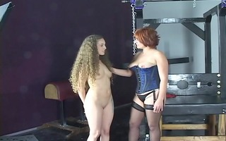 juvenile cheerleader dark brown hair gets spanked