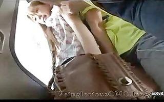 lesbo gang on train