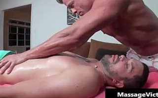 fortunate guy acquires fantastic homo massage