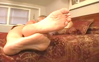 aged ladys hot soles