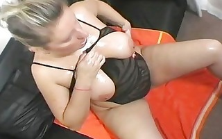 breasty uk mother i bitch shows off her giant