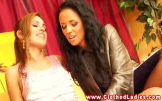 rich euro ladies upper class lesbian 0some