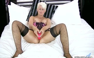 blond cougar sally taylor bonks large sex tool