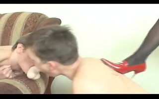 cock queen karina dominates males...have a