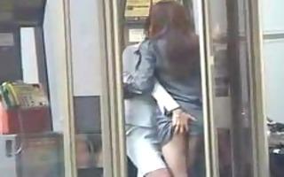 japanese lesbian babes show public affection