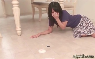 oriental acquires face hole drilled in kitchen