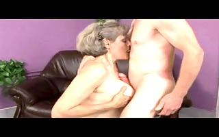 granny plays with old chap by troc