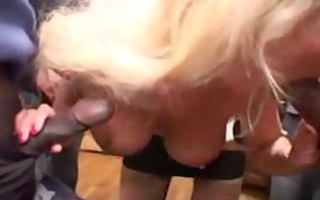 sylvie, aged team-fucked by blacks cocks