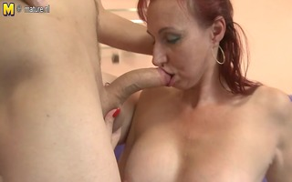 real mother fucking and sucking her juvenile lover