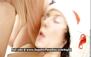 ingrid and doris wicked lesbos toying and licking