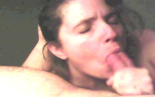 real dilettante oral job likes to engulf and
