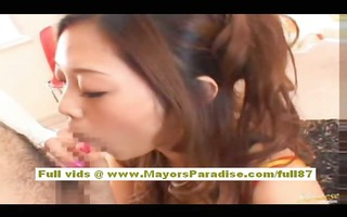 miho maeshima oriental doll acquires a load of