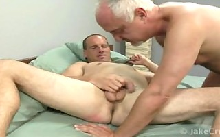 gentlemen having oral job sex