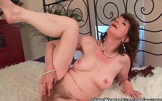 sex starved granny bonks her toy guy