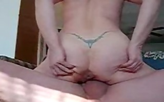 fucking and creampie my 64 years wife