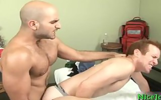redhead fucking three-some shaggy pounder part3