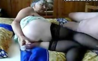 older man and grandma 117 years