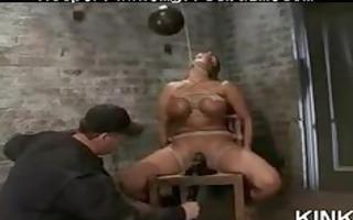 sexy beauty tied sadomasochism slavery bondman