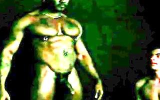 monster darksome homo ride on white chap