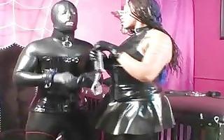 latex fetish dark woman
